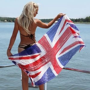 JIMMY CHOO - Union Jack collection scarf